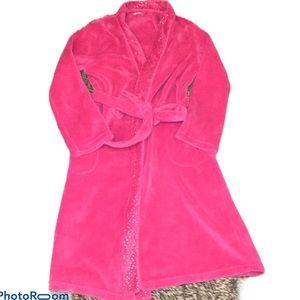 NWOT Ulta bathrobe in pink mid length, small